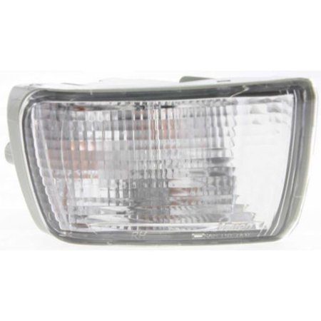 Compatible 2003 - 2005 Toyota 4Runner Turn Signal Light Assembly / Lens Cover - Front Right (Passenger) Side 81511-35411 TO2533112 Replacement For Toyota 4Runner