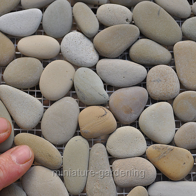 Coverall Stone Micro Stone Patio Sheet, Mocca for Miniature Garden, Fairy Garden