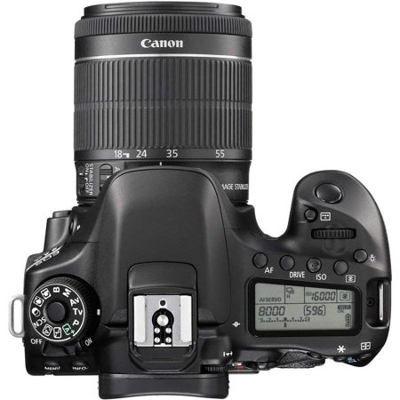 b0915e7dd0 Canon EOS 80D DSLR Camera with 18-55mm f/3.5-5.6 IS STM Lens, EF 75-300mm f/ 4-5.6 III ...