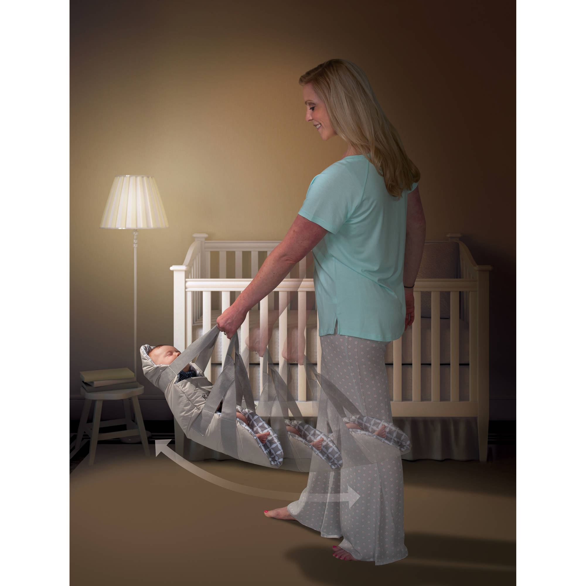 KidCo SwingPod, Gray