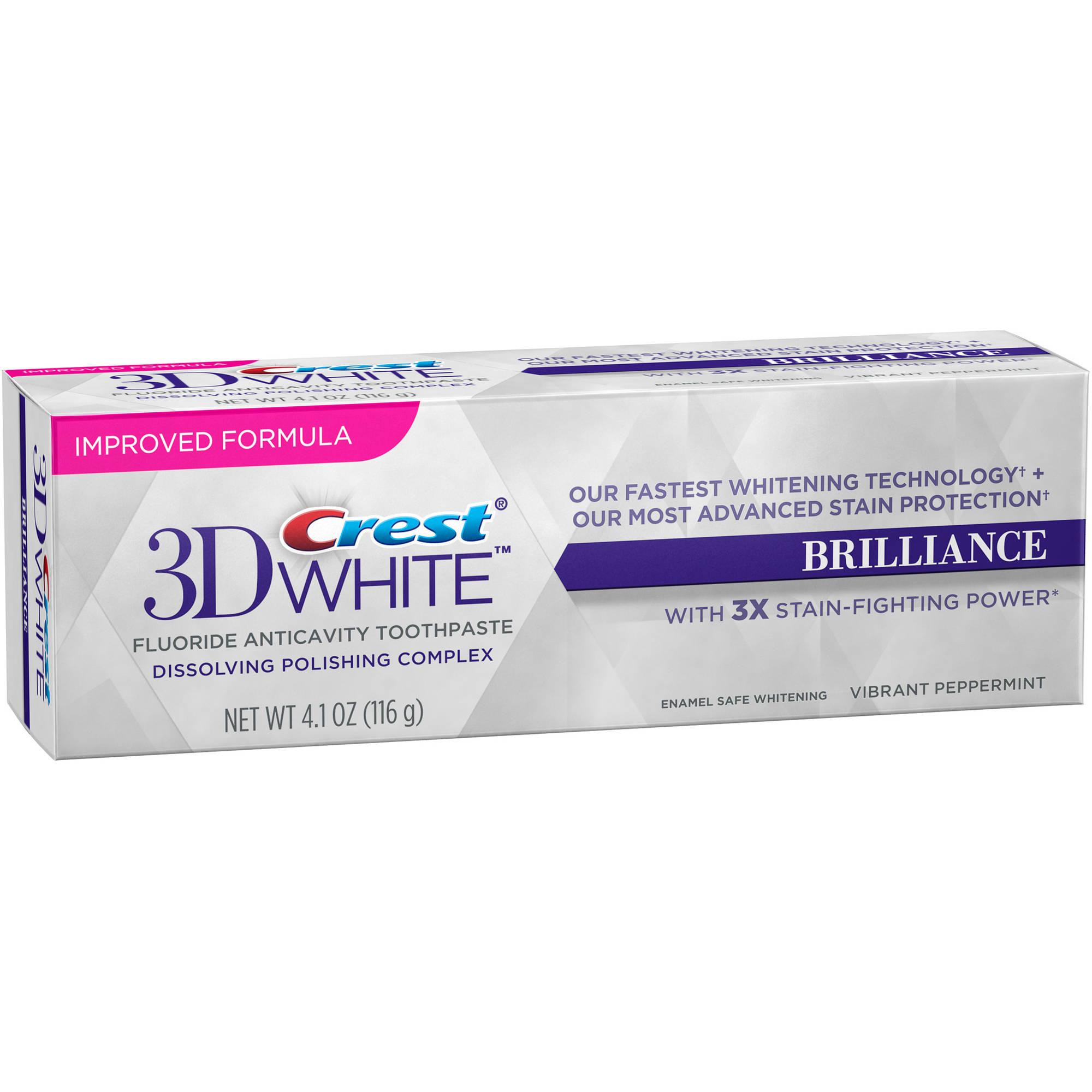 Crest Toothpaste 3d White Crest 3D White Brillia...