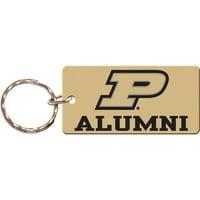 Purdue Boilermakers Team Color Alumni Keychain