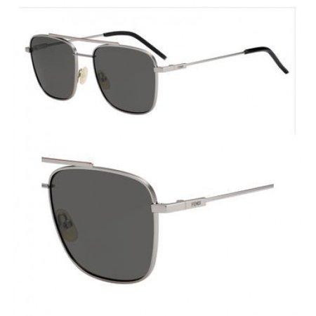 Sunglasses Fendi Ff M 8 /S 0KJ1 Dark Ruthenium / M9 gray polarized lens