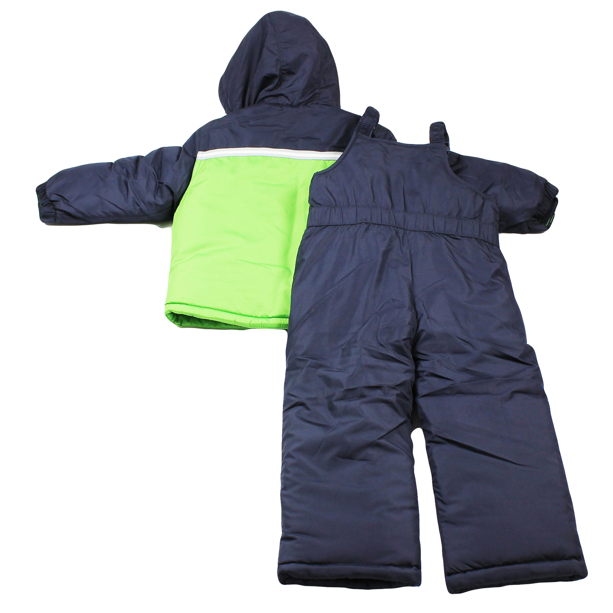 026de40e8 London Fog Boys Heavy Winter Jacket Snow Bib Overall Pants Green Size 7 -  Walmart.com