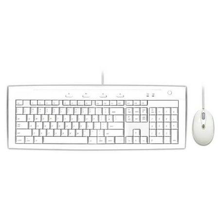 Macally USB 2.0 Slim Keyboard and Optical Mouse Combo