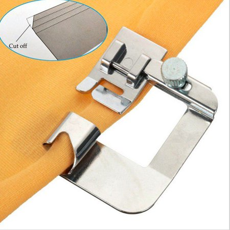 Narrow Rolled Hem Presser Foot Sewing Machine Roll Roller Hemmer Presser