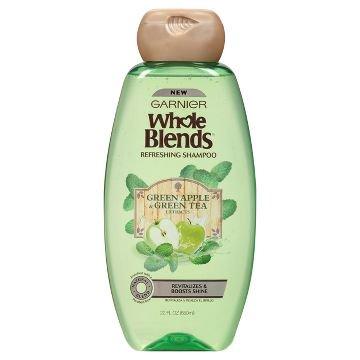 Top Performance Green Tea (Garnier Whole Blends Refreshing Shampoo Green Apple & Green Tea 12.5 oz.(pack of 6) )