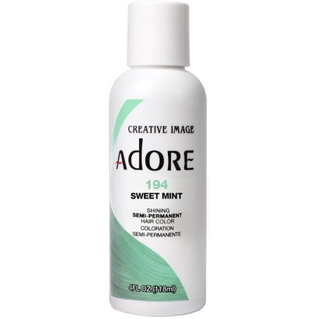 3 Pack - Creative Images  Adore Semi-Permanent Haircolor, [194] Sweet Mint 4 oz (Adobe Sweet)