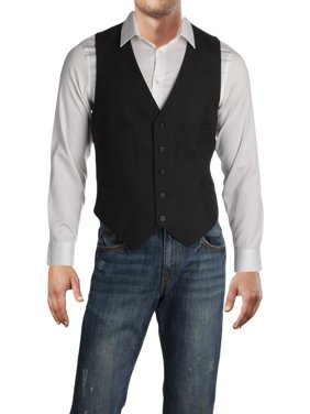 Kenneth Cole Reaction Mens Professional Business Suit Vest Gray 42S