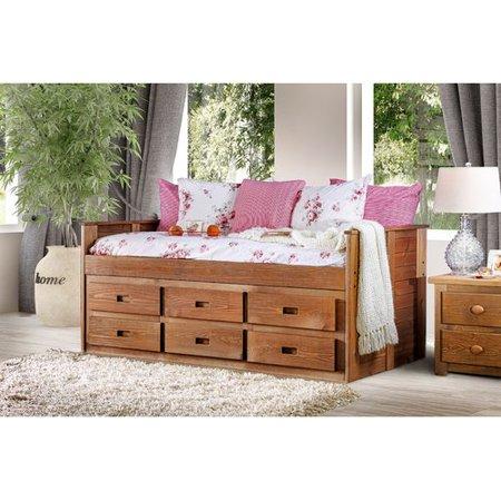 Harriet Bee Salamone Twin Mate's Bed with
