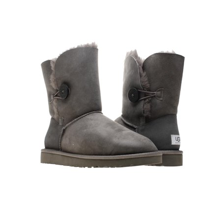 UGG Australia Bailey Button Grey Women's Winter Boots 5803 Size 8