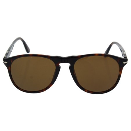 Persol PO9649S 24/57 - Havana/Brown Polarized by Persol for Men - 52-18-145 mm Sunglasses