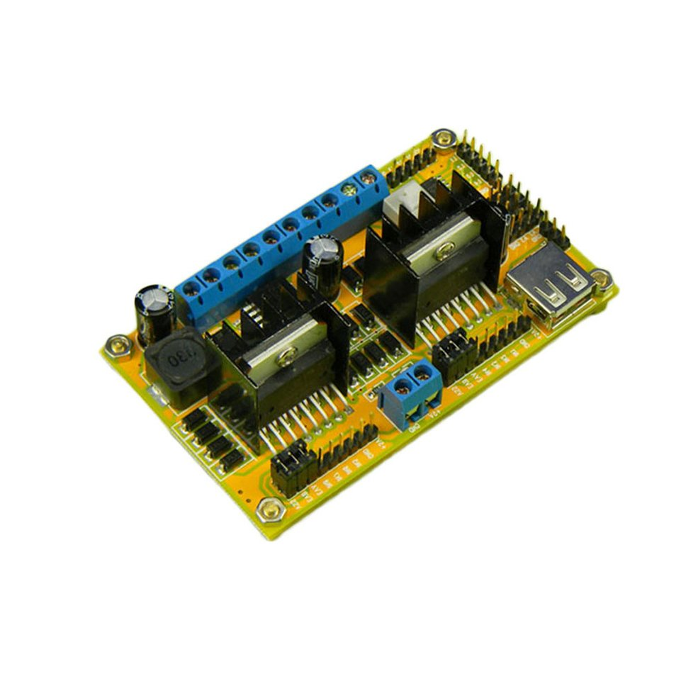 L298n H Bridge 4 Phase Dc Stepper Motor Drive Controller Power Board L298 Diagram Also With Driver Module