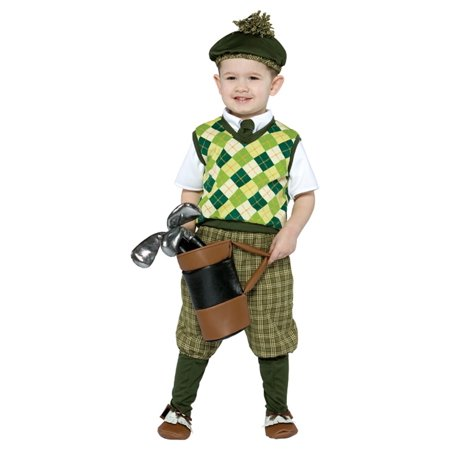 Future Golfer Child Halloween Costume, One Size, (4-6x) - Future Halloween Dates