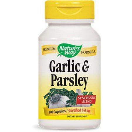 Garlic Parsley Nature's Way 100 Caps