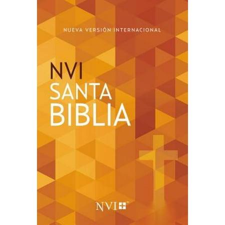 Santa Biblia Nvi, Edición Misionera, Cruz, Rústica