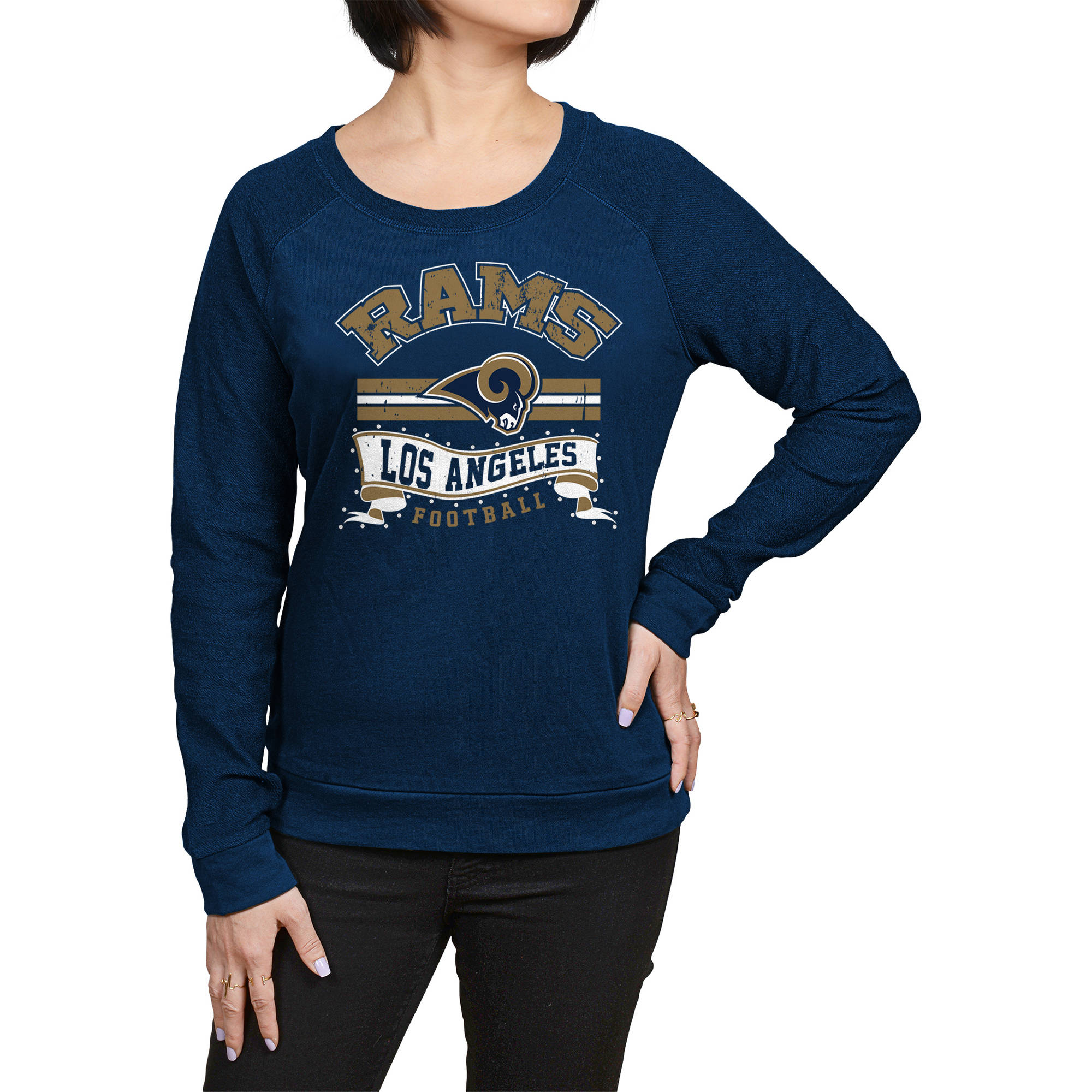 NFL Los Angeles Rams Juniors Fleece Top