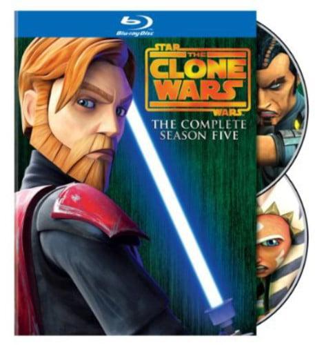 Star Wars: The Clone Wars - The Complete Season Five (Blu-ray)