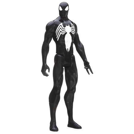 Marvel Ultimate Spider-Man Titan Hero Series Black Suit Spider-Man Figure - Spiderman Suit For Sale