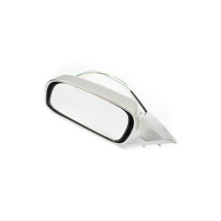 96 Toyota Camry Door Mirror (MotorKing TM1030-L-1C8 Silver Driver Side Power Door Mirror (Fits For 97-01 Toyota)