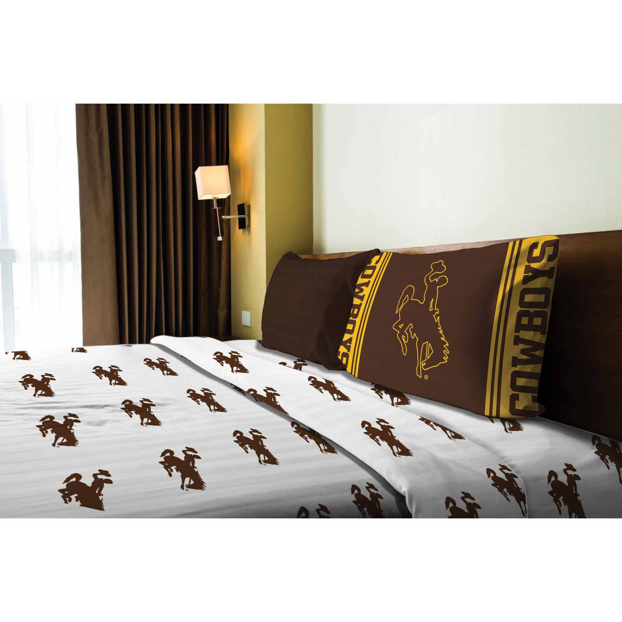 NCAA Wyoming Cowboys Sheet Set