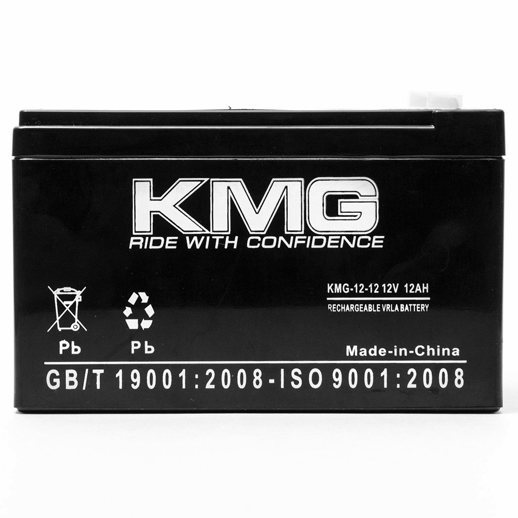 KMG 12V 12Ah Replacement Battery for Panasonic LCR12V12P LC-RA1212P1 NV0801 - image 1 de 3