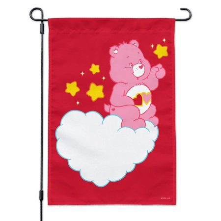 Image of Care Bears Love-A-Lot Bear Garden Yard Flag