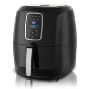 Emerald Air Fryer 1800 Watts w/ Digital LED Touch Display & Slide out Pan/Detachable Basket 5.2L Capacity (1804)