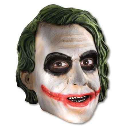 costumes for all occasions ru4491 joker .75 vinyl mask child