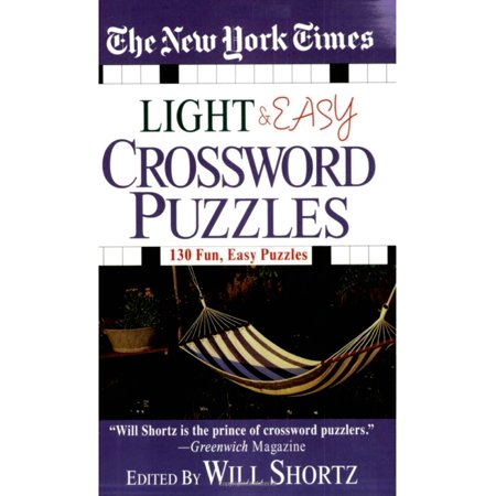 The New York Times Light and Easy Crossword Puzzles : 130 Fun, Easy Puzzles](Crossword Puzzle Halloween Printable)