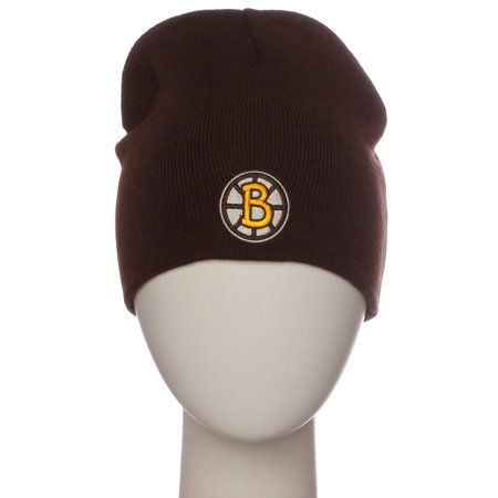 - NHL Boston Bruins Winter Beanie Knit Hat Professional Hockey Team Hat