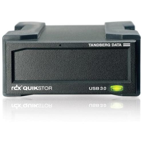 Tandberg Data Rdx Quikstor 8781-rdx Drive Dock External - Black - 1 X Total Bay - Usb 3.0