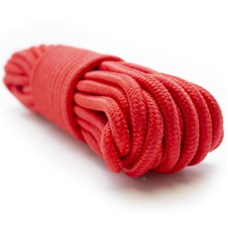 Emergency Zone 9mm (3/8 inch) Nylon Braided, 50 Foot, Multi-Purpose Rope.