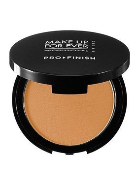 make up for ever pro finish multi-use powder foundation 168 golden camel 0.35 oz
