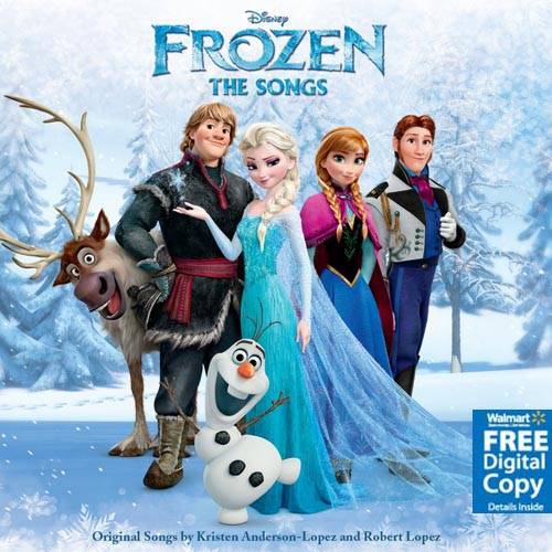 Frozen: The Songs Soundtrack (Free Digital Copy)