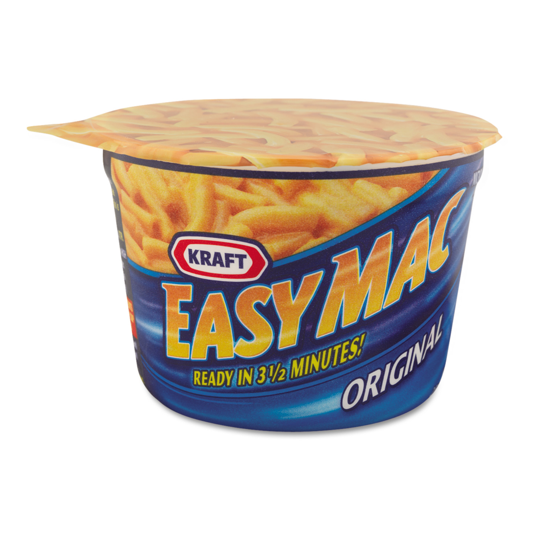 Kraft Macaroni & Cheese Dinner Easy Mac, 2.05 Oz
