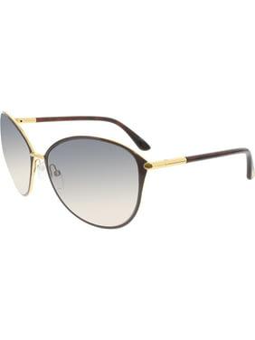 """Tom Ford Women's """"Penelope"""" Oversized Round Sunglasses FT0320"""