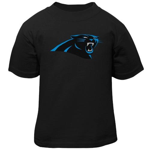 Carolina Panthers Toddler Team Logo T-Shirt - Black