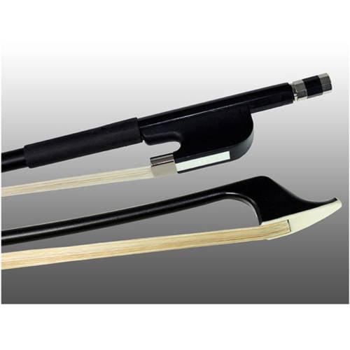 Glasser Fiberglass String Bass Bow 3 4 French, Brown by Glasser