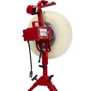 First Pitch Baseline Real Softball and Baseball Pitching Machine Up to 70mph by