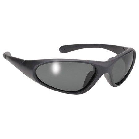 Blaze Sleek Wrap Around Sport Sunglasses Polarized Grey (Sunglasses Blaze)