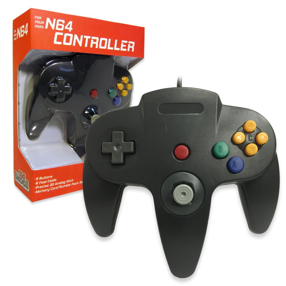 N64 Controller Black