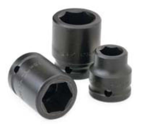"Sk Hand Tool, Llc 85670 2-3/16"" 6 Point Standard Impact Socket 1"" Drive"