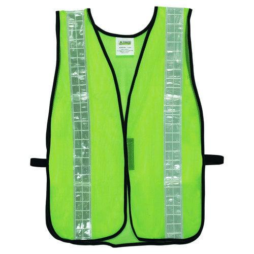 Cordova Hi Vis Mesh Safety Vest in Lime Green