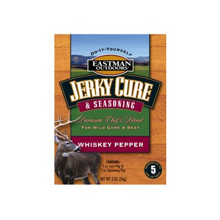 Eastman Outdoors Jerky Seasoning, Whiskey Pepper, 5 lbs