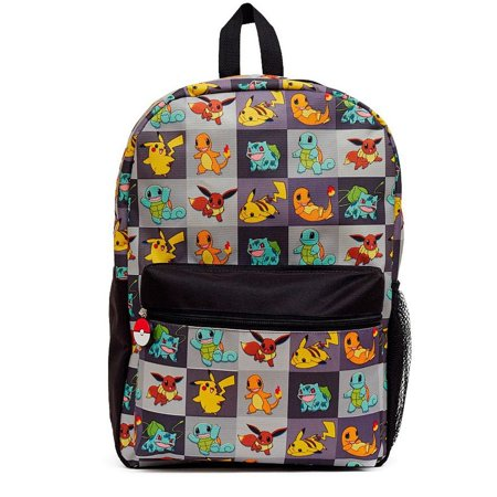 9d7bee8275f1 Pokemon - Pokemon Boys  Allover Print 17 Inch Backpack - Walmart.com