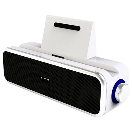 Coolmax i-ON IS-2009 Mini Bar Speaker for iPod iPhone iPad w/3.5mm Aux & USB