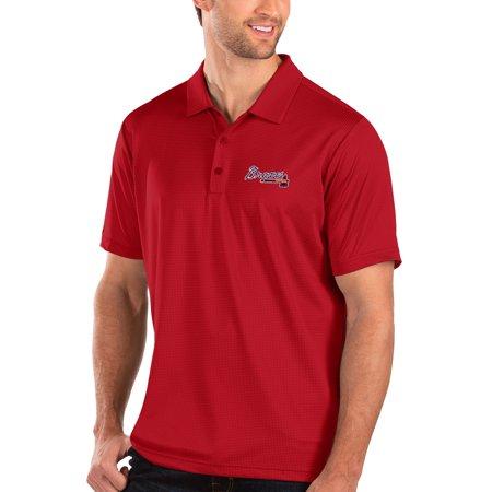 Atlanta Braves Antigua Balance Polo - Red ()