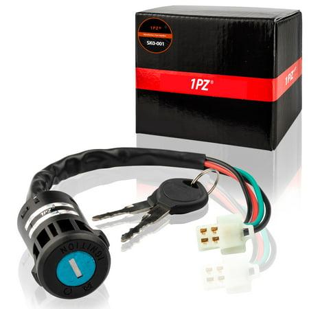 ATV Key Ignition switch 4 wire 50 70 90 110 125 150 200 250CC TaoTao (250 Cc Cylinder)