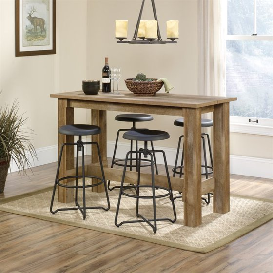 Average Kitchen Counter Height: Sauder Boone Mountain Counter Height Dinette Table